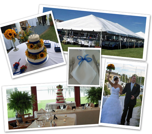 Waterfront weddings and rehearsal dinners
